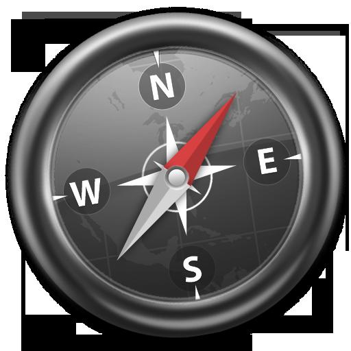 Safari Gleam Slick Icon Free Download as PNG and ICO, Icon ...